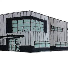 OFFICE + WAREHOUSE BUILDING EXPRESS CARGO